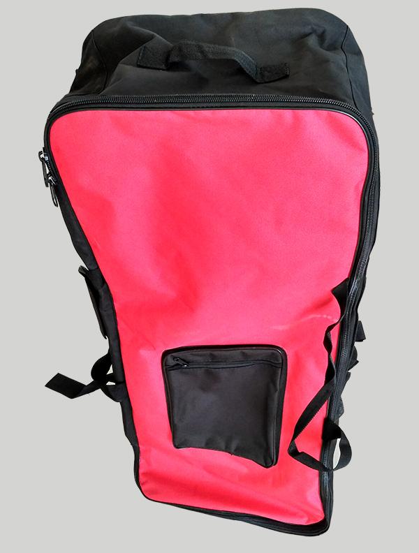 划水板红黑背包